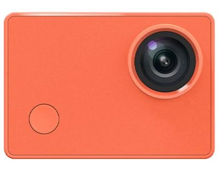 Экшн-камера YI Action Camera Basic Edition Оранжевая