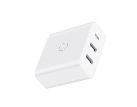 СЗУ Xiaomi ZMI Fast Charging 65 Вт 2-USB+UCB-C (HA832)