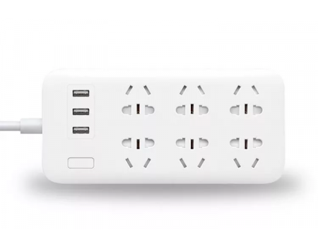 Удлинитель Xiaomi Mi Power Strip 6 на 6 розеток / 3 usb