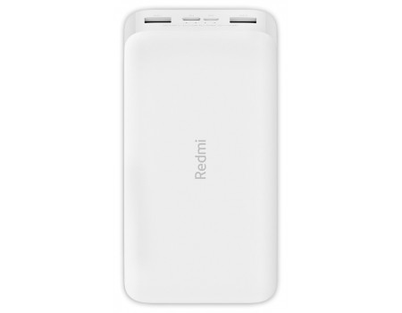 Аккумулятор Xiaomi Redmi Powerbank 20000 мАч Белый