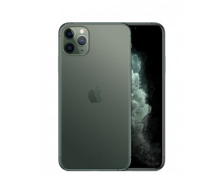 Apple iPhone 11 Pro Max 64Gb темно-зеленый в Туле
