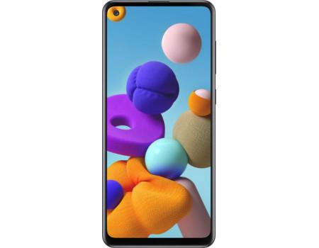 Samsung Galaxy A21s 3/32Gb Черный в Туле
